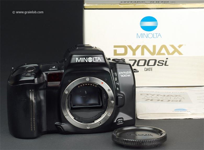 Minolta Dynax 700si Date