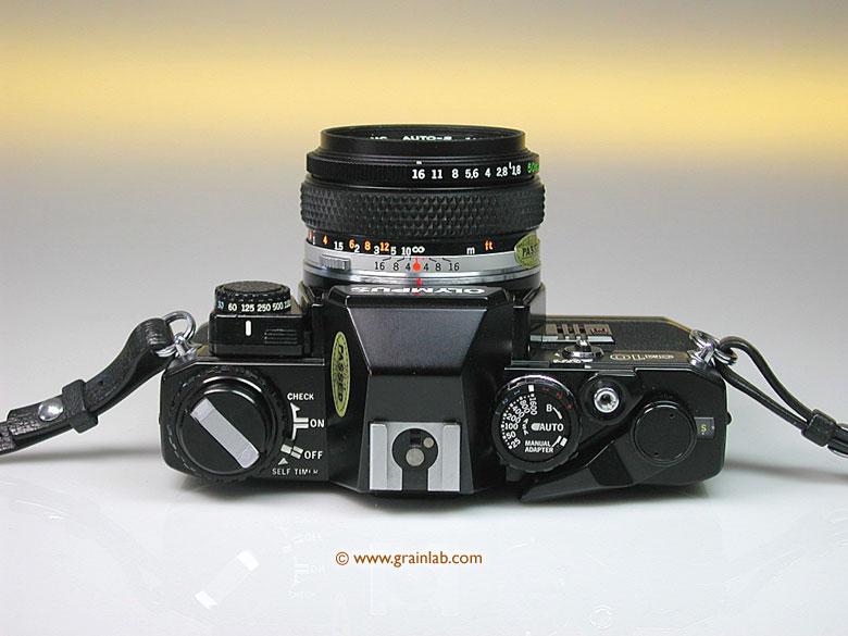 olympus om 10 black manual adapter zuiko 1 8 50mm grainlab rh grainlab com olympus om10 manual adapter instructions olympus om10 manual adaptor