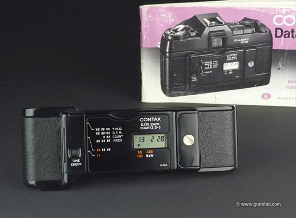 Contax Data Back Quartz D-5