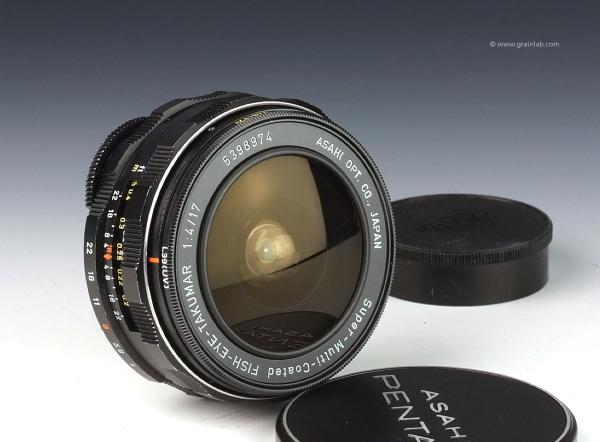 Asahi Pentax Super-Multi-Coated Fish-Eye-Takumar 17mm f/4 - M42