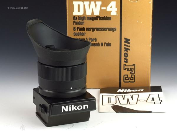 Nikon DW-4 High Magnification Finder for F3