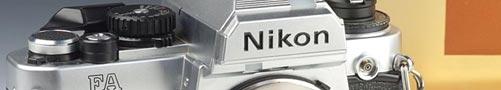 Nikon FA Kamera